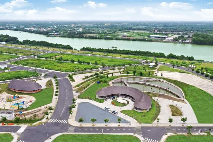 Đất nền Sài Gòn Riverpark, 80m2 giá 1.1 tỷ, sổ hồng riêng